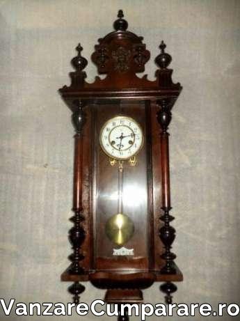 listă nouă diverse stiluri cumpărarea ieftină superba pendula ceas de perete antic junghans perioada anilor 1900 ...